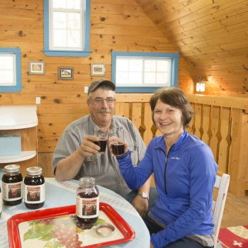 Susan Roisen of king of the north grape juice